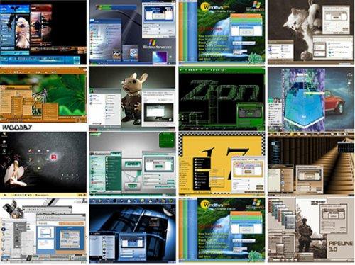 90 тем для Windows XP